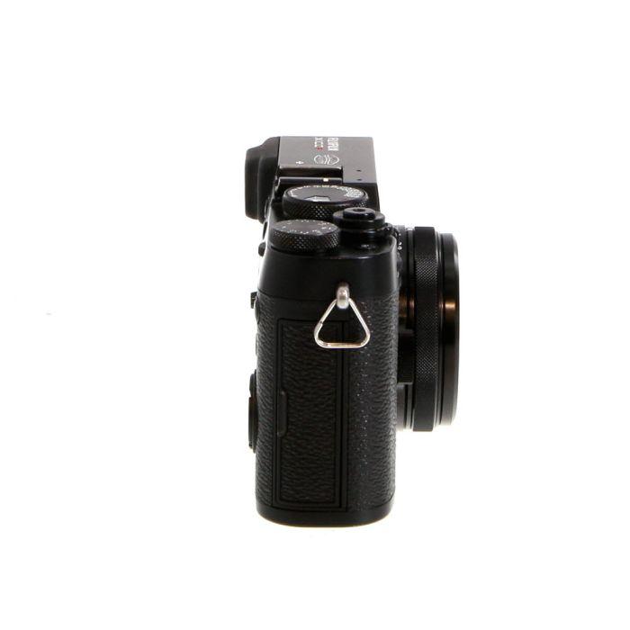 Fujifilm X100F Digital Camera, Black {24.3MP} Menu Defaults to Japanese