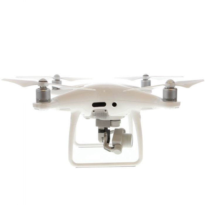 DJI Phantom-4PRO+ Quadcopter (White) Drone with 3-Axis Gimbal Stabilized 4K60/20MP Imaging Starter Bundle, Styrofoam Carry Case (Requires MicroSD Card)