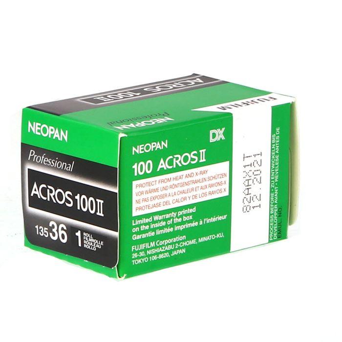 Fujifilm Neopan Acros 100 II 135-36 (ISO 100) 35mm Black & White Negative Film