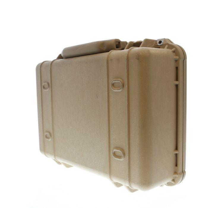 Pelican #1500 Case without Foam, Dessert Tan 17.75X11.75X6