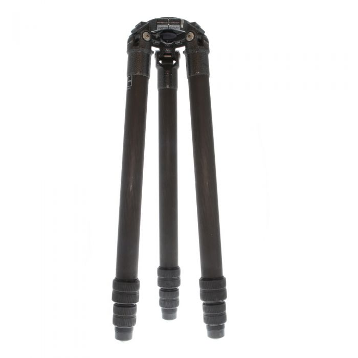Gitzo GT5531S Systematic 6X Carbon Fiber Tripod Legs with Flat Top Plate, 3-Section, 6.3-52.4