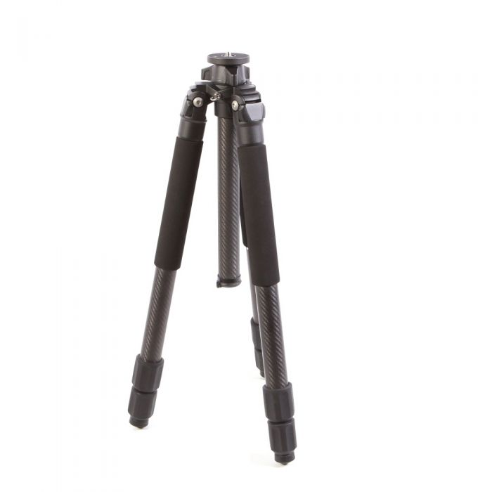 Induro CLT403 Classic Series 4 Stealth Carbon Fiber Tripod Legs with Short Center Column, 3-Sections, 17.1-64.4