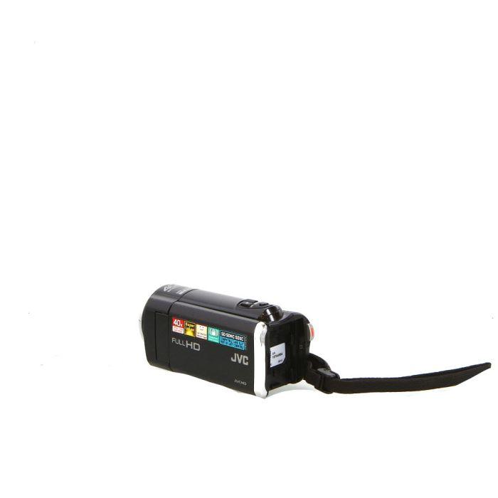 JVC Everio GZ-E10 Digital Full HD Camcorder, Black
