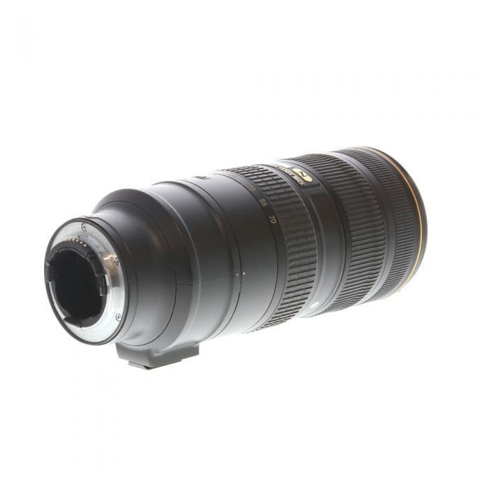Nikon Nikkor 70-200mm F/2.8 G ED IF AF-S VR II Autofocus Lens {77} without Tripod Foot