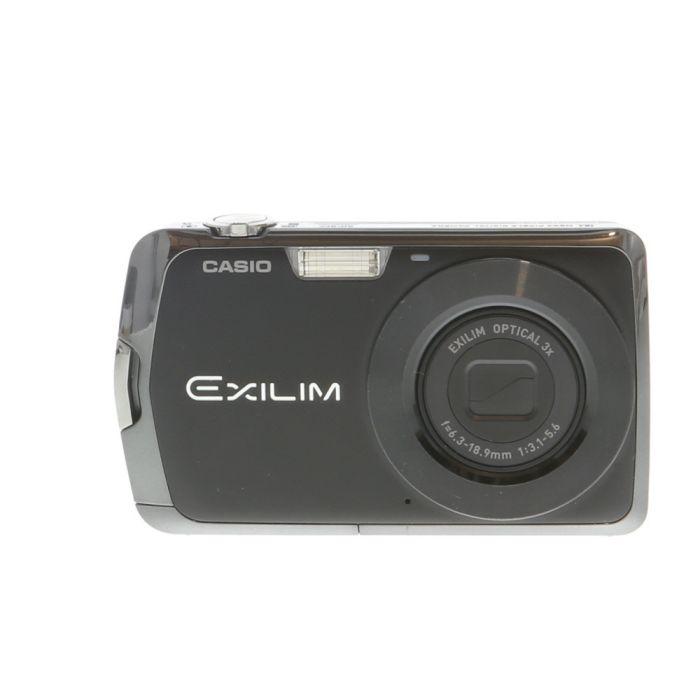 Casio Exilim EX-S7 Black Digital Camera {12 M/P}
