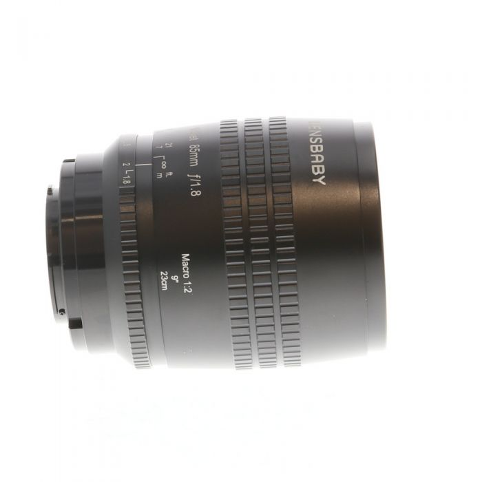Lensbaby Velvet 85mm f/1.8 Manual Lens for Sony E-Mount, Black {67}