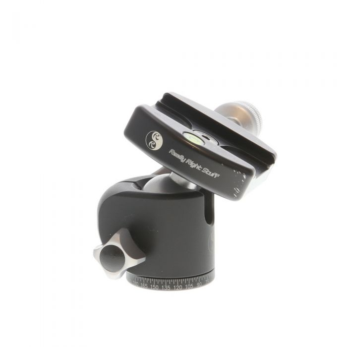 Really Right Stuff BH-30 Ball Tripod Head with B2-Pro II Knob Release Clamp (Requires Quick Release Plate)
