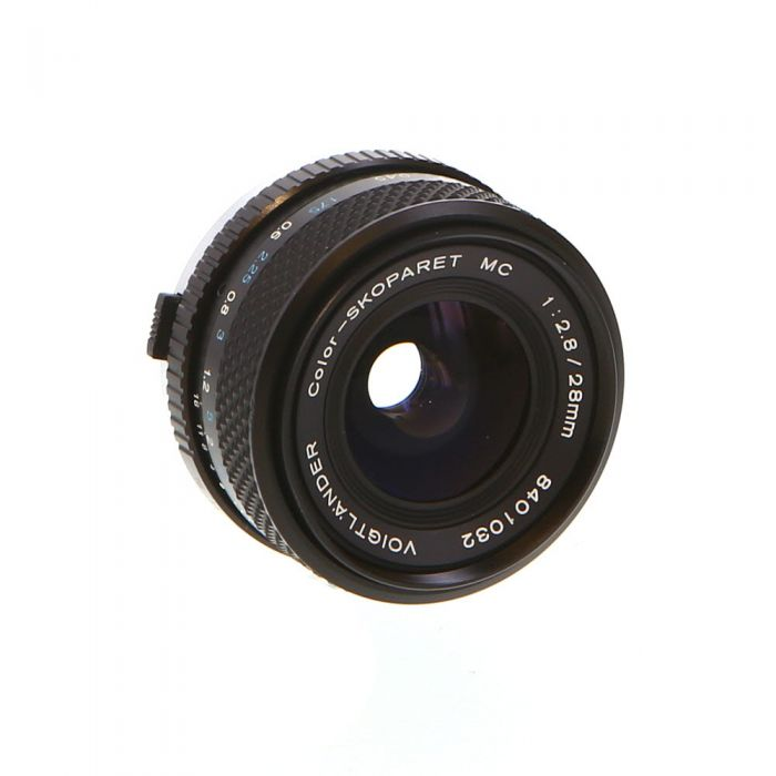 Voigtlander 28mm f/2.8 Color-Skoparet MC MF Lens for Olympus OM-Mount {52}