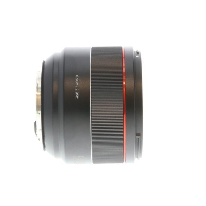 Samyang AF 85mm f/1.4 EF Lens for Canon EF-Mount, Black {77}