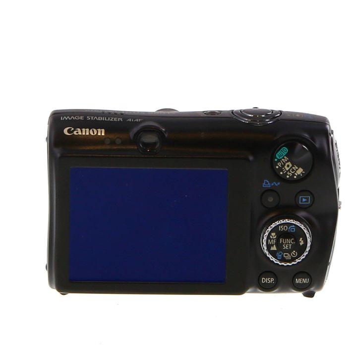 Canon IXUS 980 IS Digital Camera, Black {14.7MP} (International ELPH SD990)
