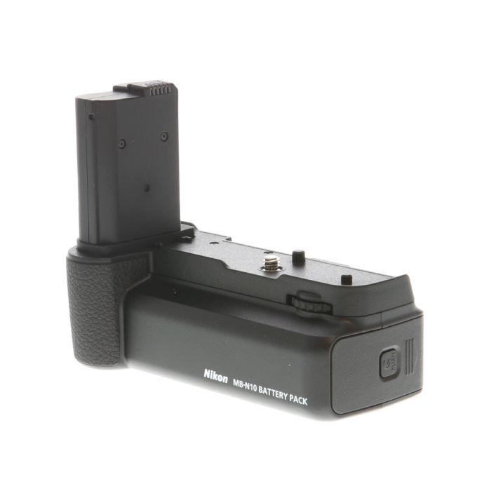 Nikon MB-N10 Multi Battery Power Pack for Nikon Z7, Z6 (Dual Battery Slots/2X EN-EL15b)