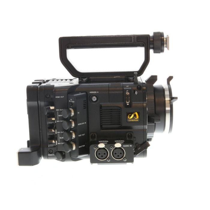 Sony CineAlta PMW-F5 Super35 2K60p/8.9MP Digital Cinema Camera Body (FZ-Mount) with Audio Connector