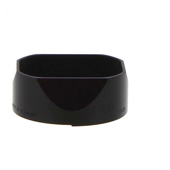 Leica 35/50 F/2.4 Summarit M, Black, 12439 Lens Hood