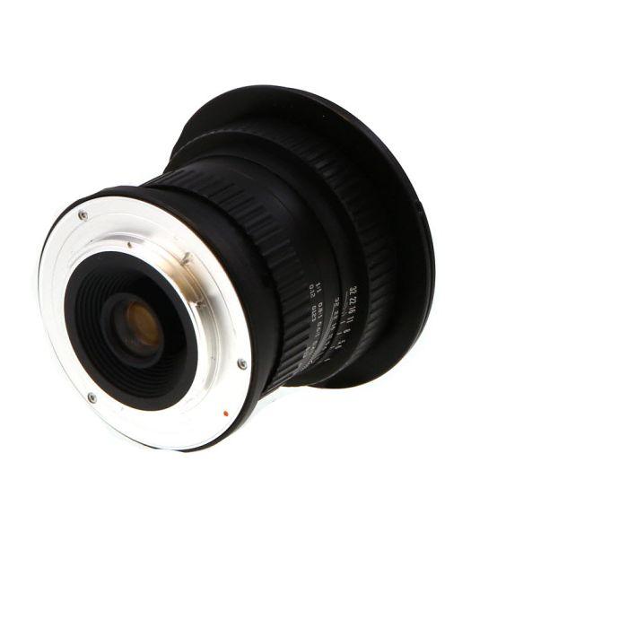 Opteka 15mm f/4 Wide Macro 1:1 Manual Lens for Full Frame Nikon F-Mount {77}