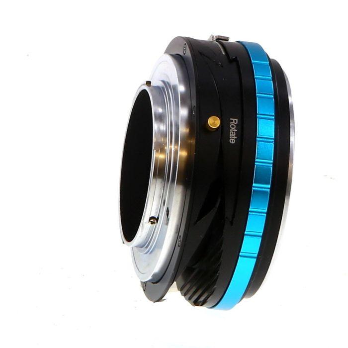Fotodiox Pro TLT ROKR Tilt-Shift Adapter NIK(G)-FX(RF) for Nikon F-Mount, G-Type Lens to Fujifilm X-Mount Mirrorless