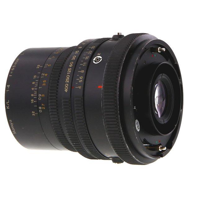 Mamiya 65mm f/4 K/L L Lens for RB67 {77} without Pro S/SD Adapter