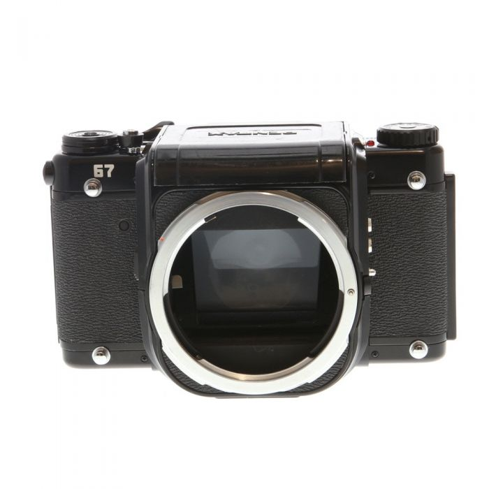 Pentax 67 Medium Format Camera Body without Meter Coupling Chain