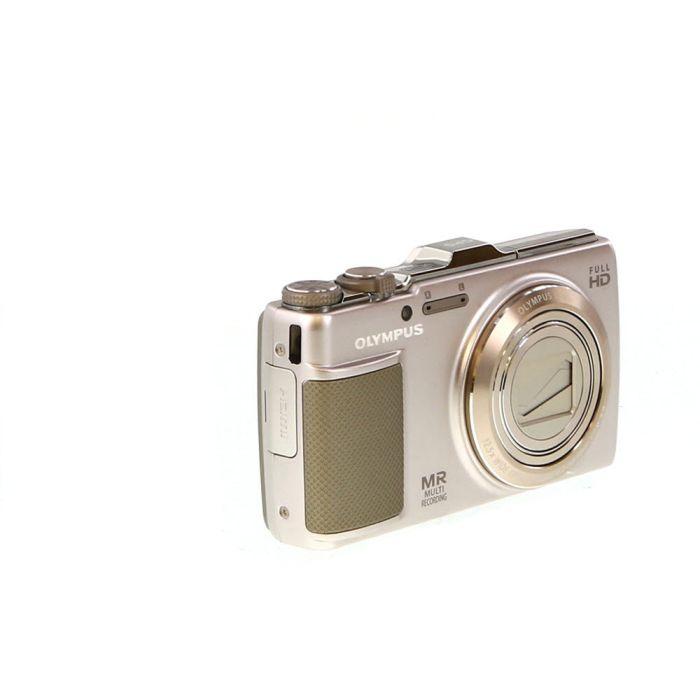 Olympus SH-25MR Silver Digital Camera {16 M/P}