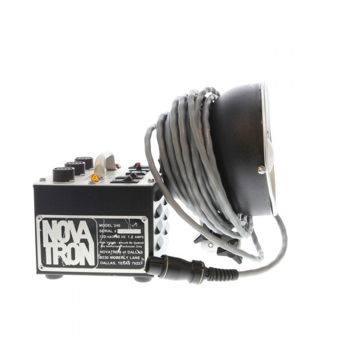 Novatron 240 Power Pack Kit with 2010C 1-Stop Head, 2000C Standard Head