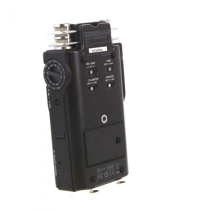 Tascam Dr-100mkII Portable 2-Channel Linear PCM Recorder