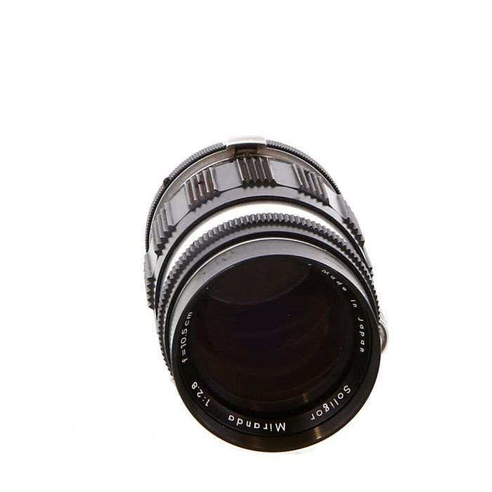 Soligor 10.5cm (105mm) f/2.8 Preset Lens for Miranda {49}