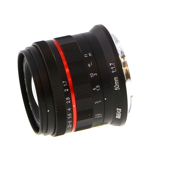 Meike 50mm f/1.7 Manual Focus, Manual Aperture Lens for Nikon Z Mount Mirrorless {52}