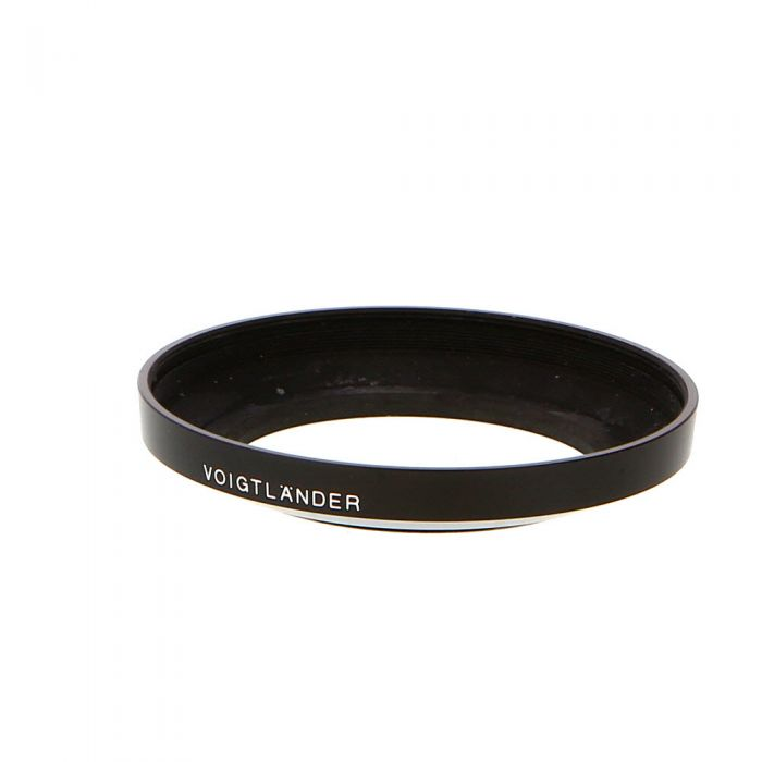 Voigtlander LH-20N Screw-In Lens Hood For 20mm F/3.5 Color-Skopar SL II, SLII N
