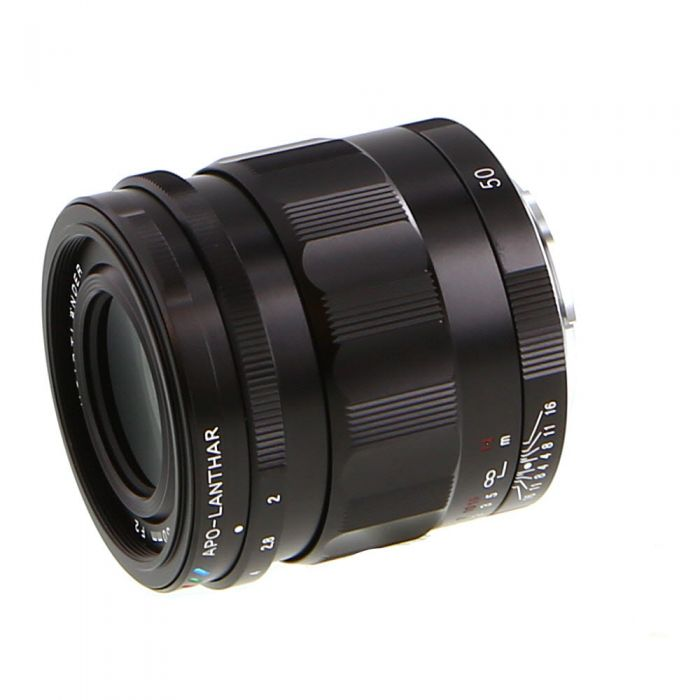Voigtlander 50mm f/2 APO-LANTHAR Full-Frame Manual Lens for Sony E-Mount, Black {49}
