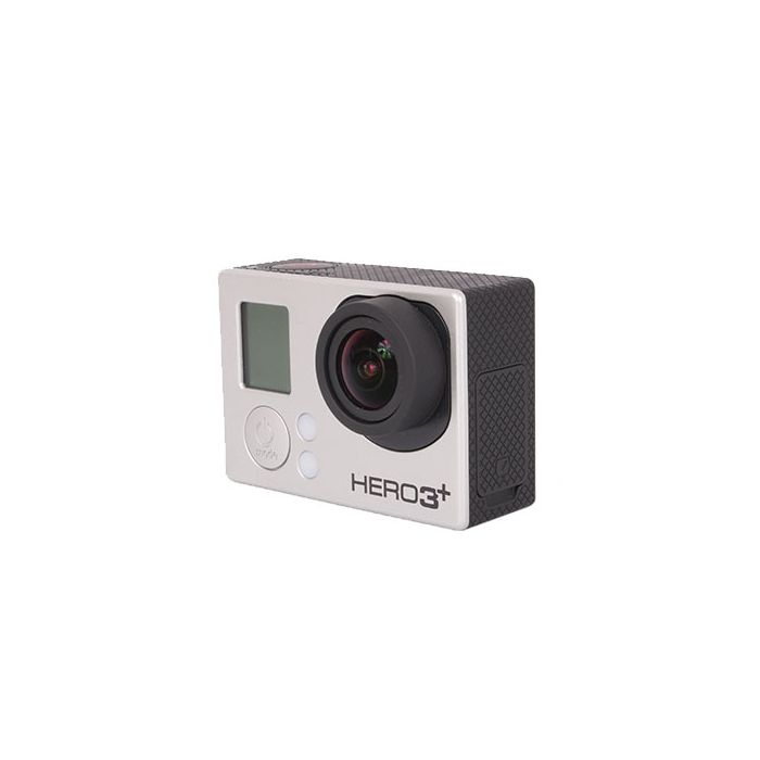 GoPro Hero 3+ Black Edition Digital Action Camera with Standard Housing, Quick Release Buckle {12MP} Waterproof to 131'