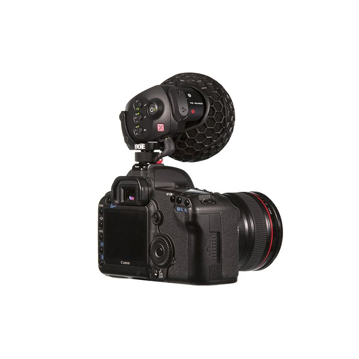 Rode Stereo Videomic X (SVMX) Broadcast-Grade Stereo On-Camera Microphone