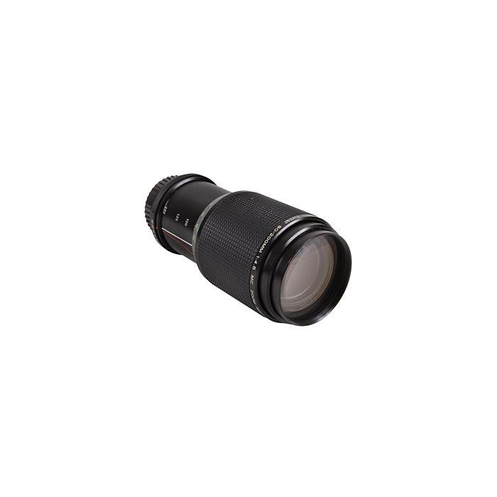 Vivitar 80-200mm F/4.5 MC Manual Focus Lens For Pentax K Mount {58}