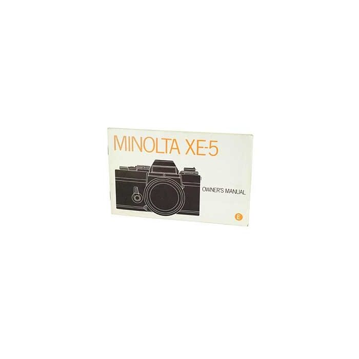 Minolta XE-5 Instructions