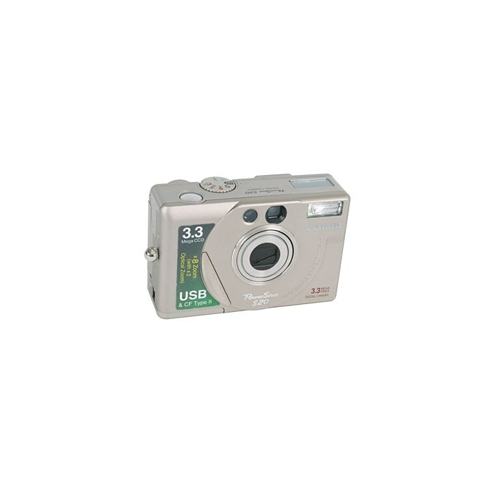 Canon Powershot S20 Digital Camera (Camera Only) {3.3 M/P}
