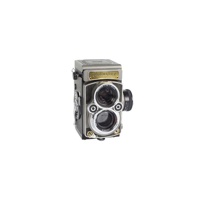 Rollei Rolleiflex 2.8 GX Edition 60 Jahre (BAY III) Medium Format TLR Camera
