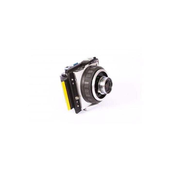 Graflex XL Super Wide Camera, Chrome, with 47mm f/8 Super