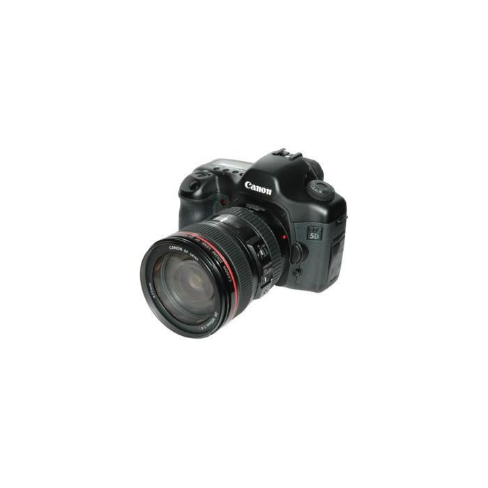 Canon EOS 5D Digital Camera, With EF 24-105mm f/4 L IS USM Lens {12.8 M/P} [77]