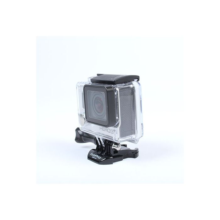 GoPro Hero 3+ Silver Edition Digital Action Camera With Standard Housing (Waterproof to 131\'), Quick Release Buckle {12 M/P}