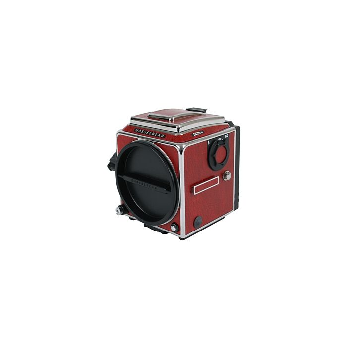 Hasselblad 503CW Medium Format Camera Body, Chrome/Red