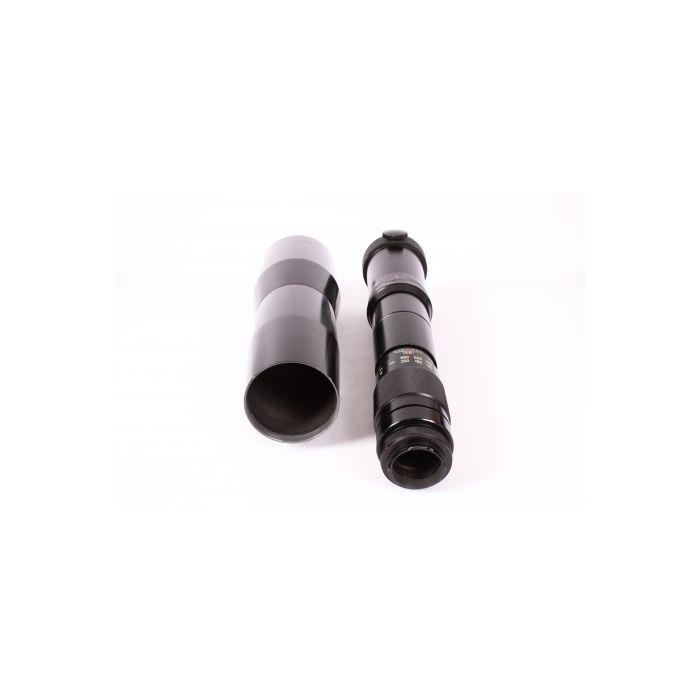 Vivitar 800mm F/8 Tele Pre-Set T-Mount Manual Focus Lens For Minolta SR Mount {107}