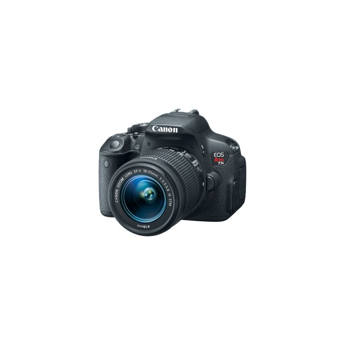 Canon EOS Rebel T5I Digital Camera With EF-S 18-55mm f/3.5-5.6 IS STM Lens {18 M/P} [58]
