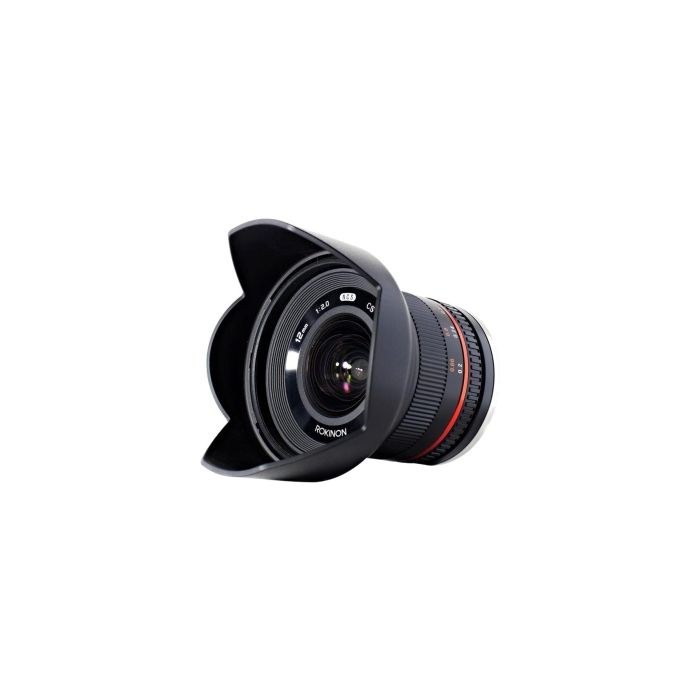 Rokinon 12mm f/2 NCS CS Manual Focus Lens for Micro Four Thirds System, Black {67}