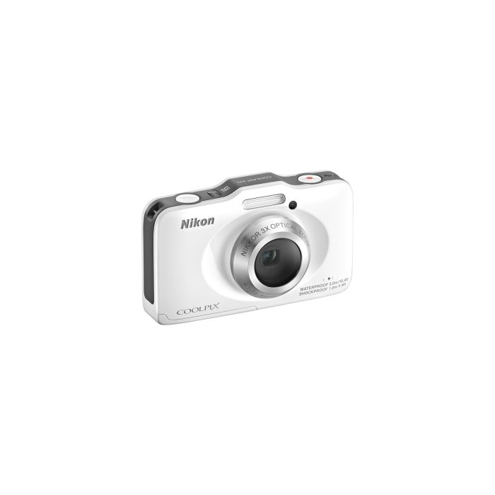 Nikon Coolpix S31 Digital Camera, White {10.1MP}