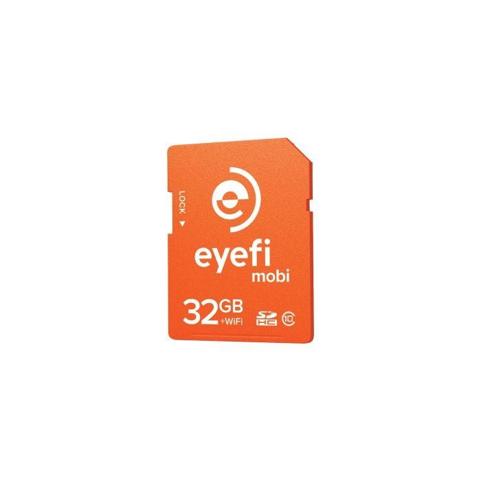 Eye-Fi Mobi 32GB + WiFi Card, Class 10 SDHC Memory Card