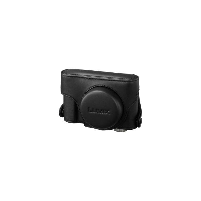 Panasonic DMW-CLX5PP-K Black Leather Case (LX5)