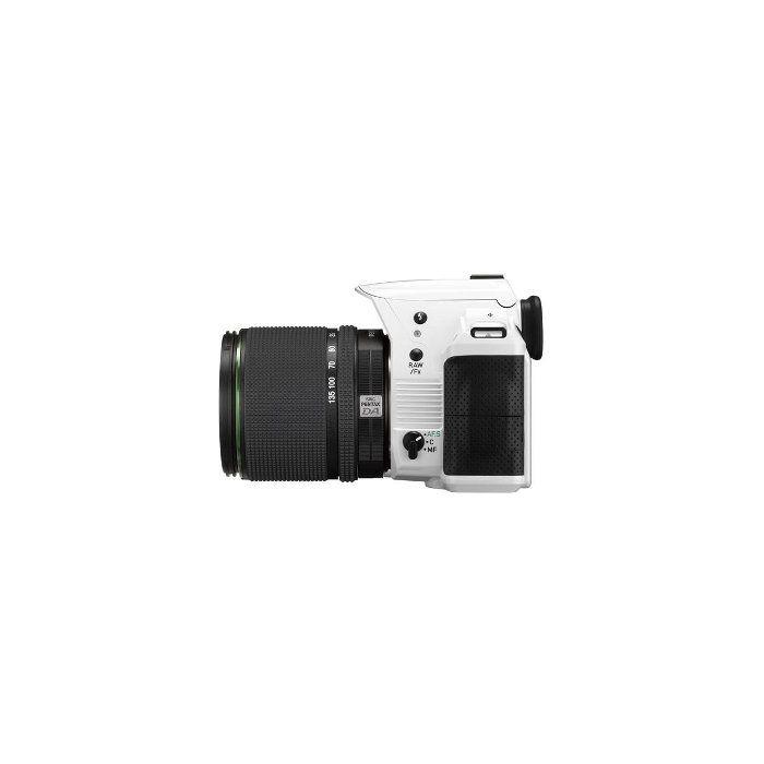 Pentax K-30 White Digital Camera With 18-55mm F/3.5-5.6 DAL AL Black Lens (52){16.3 M/P}