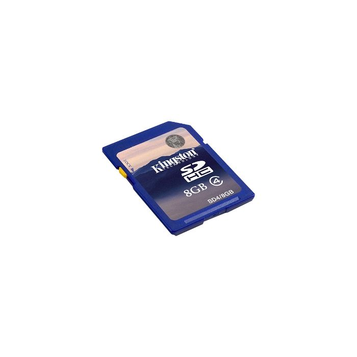 Kingston 8GB Class 4 SDHC Memory Card