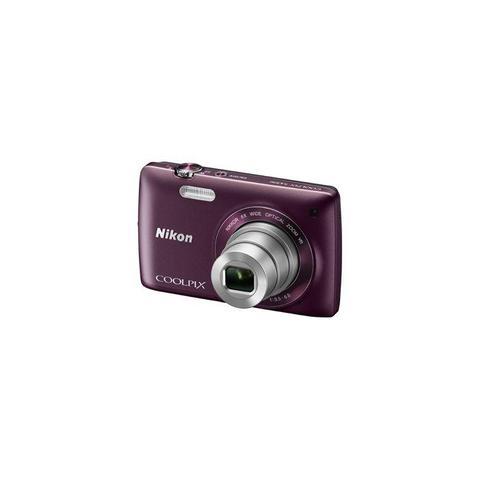 Nikon Coolpix S4300 Digital Camera, Plum {16MP}