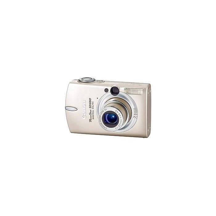 Canon Powershot SD550 Beige Digital Camera {7.1MP}