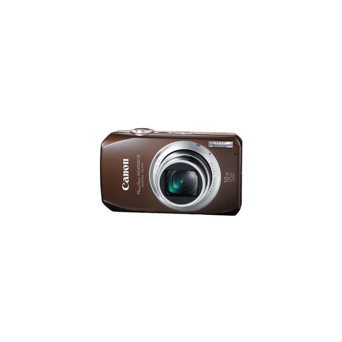 Canon Powershot SD4500 IS Brown Digital Camera {10 M/P}