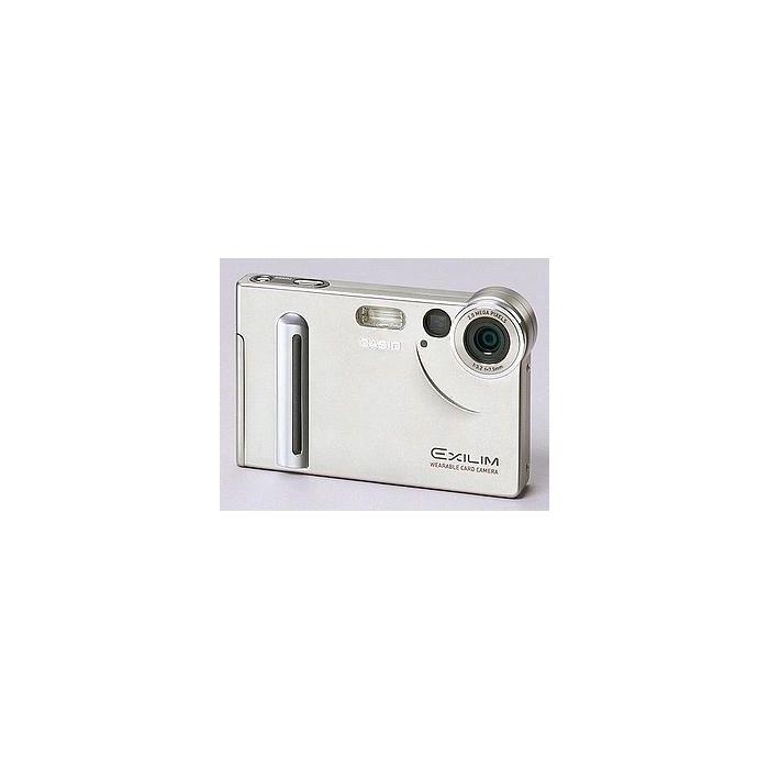 Casio Exilim EX-S2 Silver Digital Camera {2.11MP}